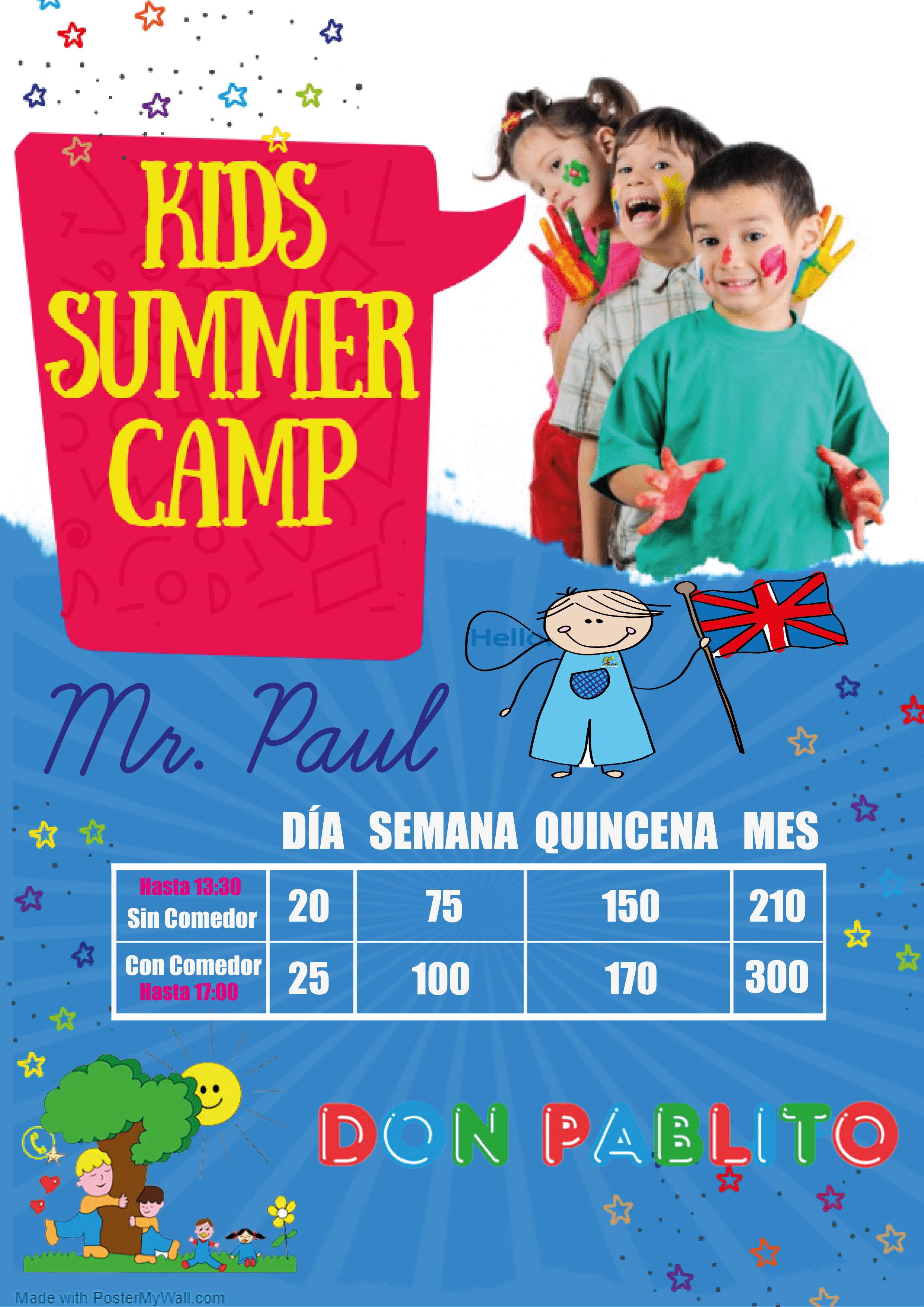 campamento de verano teatinos